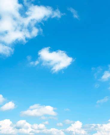 clouds blue sky: The vast blue sky and clouds sky
