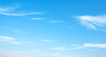 bright sky: The vast blue sky and clouds sky