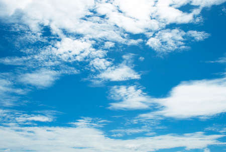 sky and clouds: The vast blue sky and clouds sky