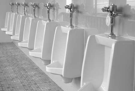 urinal Standard-Bild