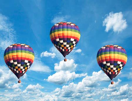 A balloon and sky Stock Photo