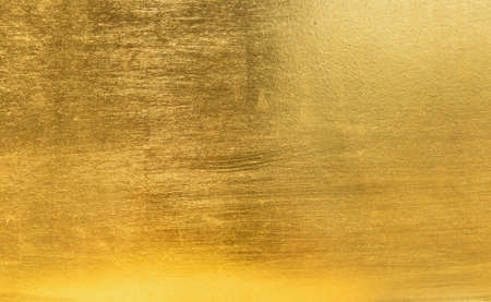 brushed steel: Gold metal Stock Photo