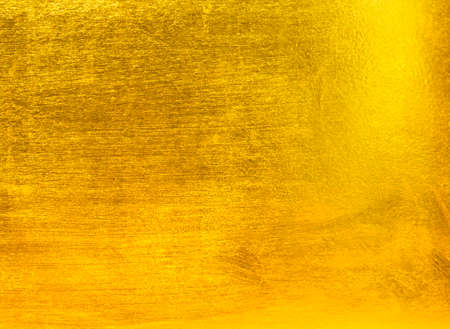 smooth background: Gold metal Stock Photo