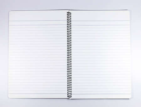 sheet of paper: notebook