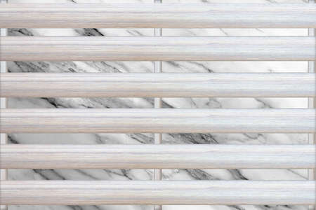 Wooden walls marble Stock Photo