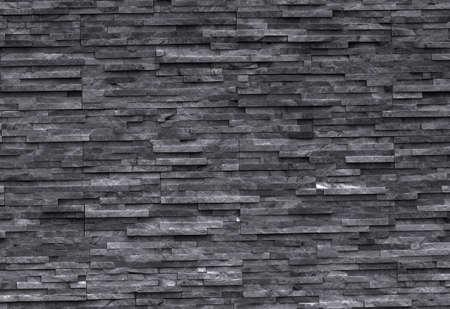 黒い大理石の壁 写真素材