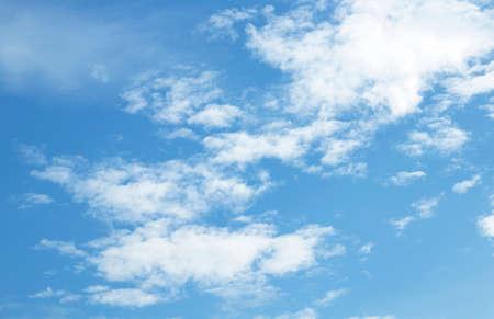 sky blue background white cloud