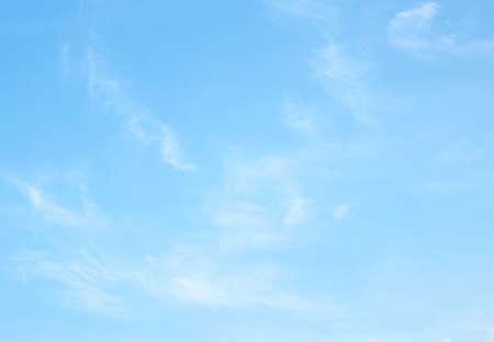 blue sky clouds background