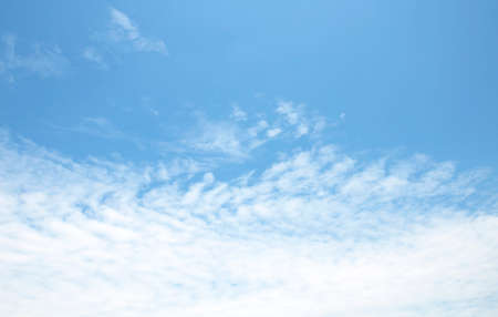 Blue sky background and white clouds