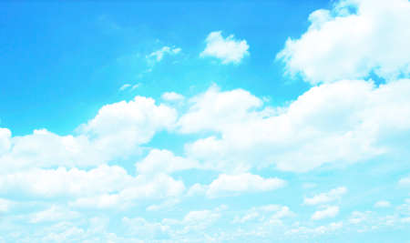 sky  blue white  clouds  background