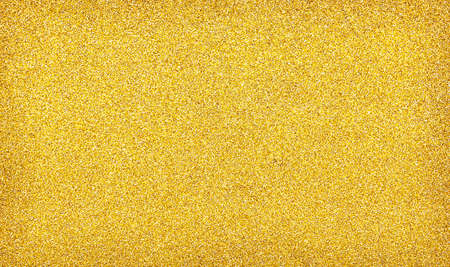 Gold glitter texture sparkling shiny wrapping paper background for Christmas holiday seasonal 免版税图像