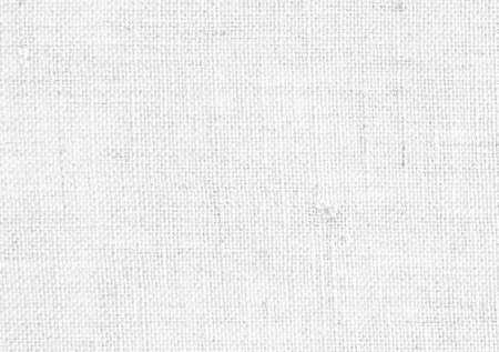 Texture ou fond de tissu de lin blanc Banque d'images