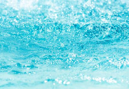 Blurred water, glittering bokeh Zdjęcie Seryjne - 120361666