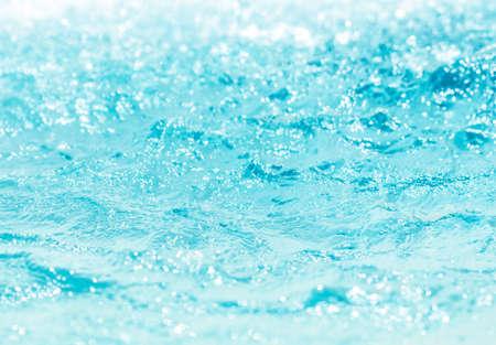 Blurred water, glittering bokeh Zdjęcie Seryjne - 120361672