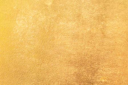 壁ゴールドの背景テクスチャ抽象