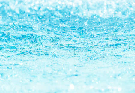Water surface blue background clean water pond