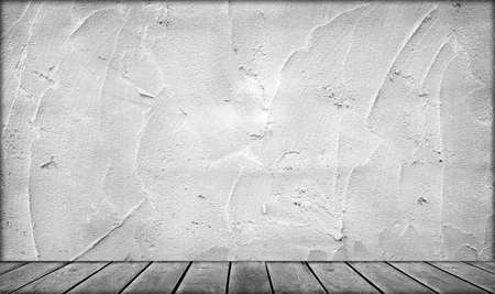 Wall and wooden board background