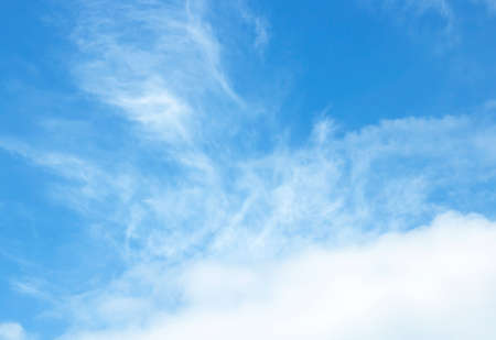 The sky, clouds, light and comfortable abstract