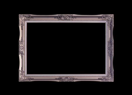 frame on the black background.luxurious