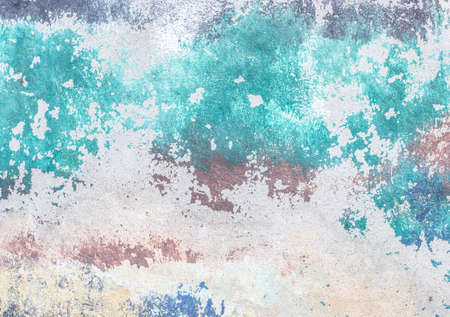 Abstract background blue and gray wall