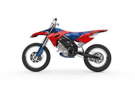 Dirt Bike Red Side