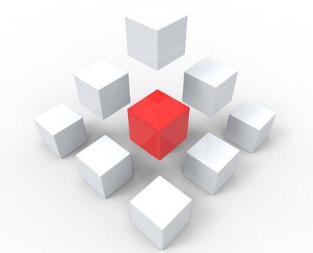 boxs: Unique Cubes Pyramid
