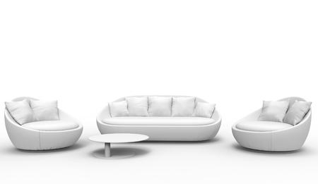 headboard: Modern White Room