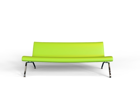 green sofa: Lime Green Sofa