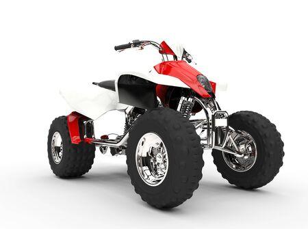 quad: Red Quad Front View