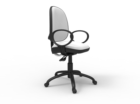 boardroom: White Office Chair 03