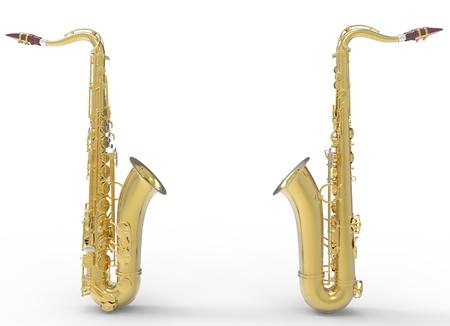soprano saxophone: Dos saxofones