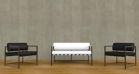 vase plaster: Modern Living Room Black And White