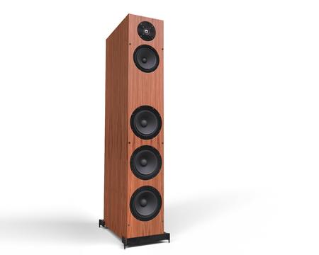speaker: Wooden Speaker
