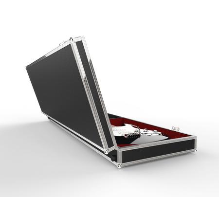 guitar case: Electric Guitar Case