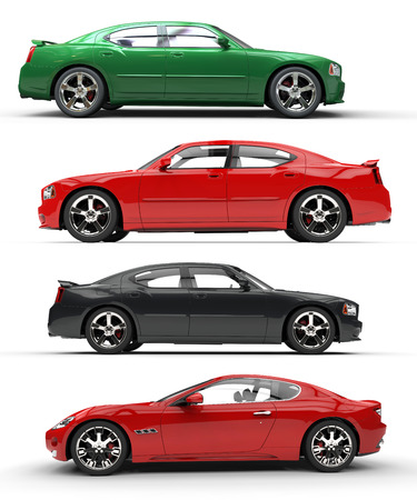 chr: Set Of Cars 01