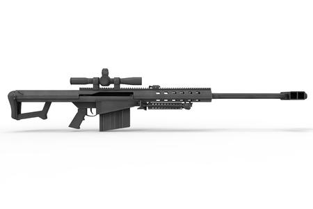 ハイパワーの狙撃兵のライフル