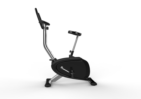 Stationary Bike Side View Imagens
