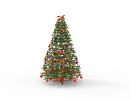 christmas tree: Christmas Tree With Bows