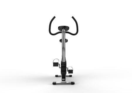 stationary bike: Stationary Bike Front View