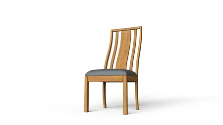 wood chair: Wood Chair Stock Photo
