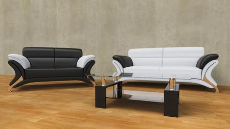 contemporary living room: Contemporary Living Room Concrete