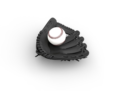 airborne: Black Baseball with ball in it