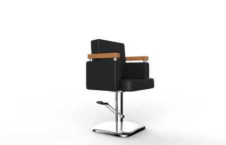 indoor background: Hair Chair Stock Photo