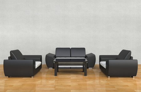 contemporary living room: Contemporary Living Room White