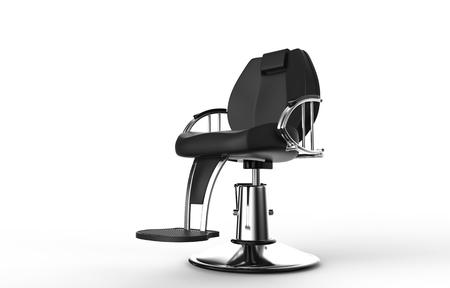 Hair Salloon Armchair Stock Photo