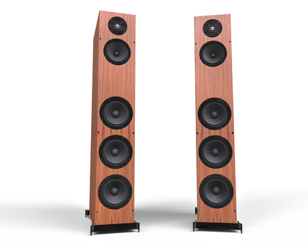 preamp: Wooden Speakers