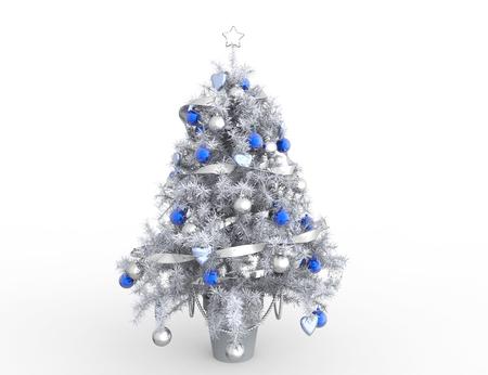 白いクリスマス ツリー