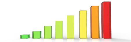 03: Bars and charts 03 Stock Photo
