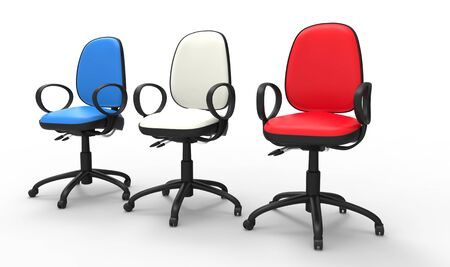 boardroom: Multicolored Office Chairs 03