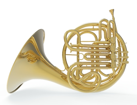Trombone Francese 2 Archivio Fotografico - 44860267